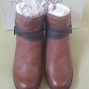 Natural Soul brown ankle boots